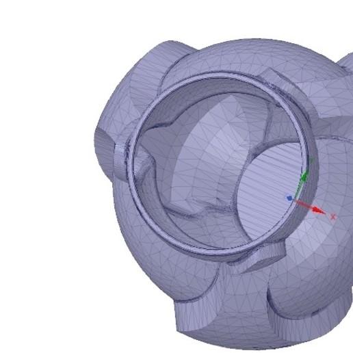 Vase05_stl-02.jpg Download OBJ file vase cup vessel v05 for 3d-print or cnc • 3D printable template, Dzusto