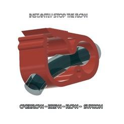 tubing-clamp-02-d12 v12-000.jpg Télécharger fichier STL collier de serrage de taille moyenne d12 pour arrêter instantanément l'écoulement d'air ou de liquides à travers le type de tuyau en vinyle généralement utilisé dans les applications domestiques tc-02 3dprint • Design pour imprimante 3D, Dzusto
