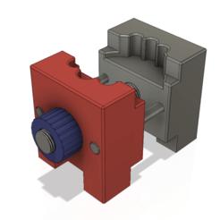 vise watch holder 02 v8-00.png Télécharger fichier STL support pour la réparation et le réglage d'un dispositif de fixation d'un étau d'horloge • Plan imprimable en 3D, Dzusto