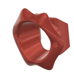 Download 3D printing models O-Ring Gag SEXY SLAVE Open Mouth Ring Gag SM bondage GIGANT TUNNEL mg-04 3d print, Dzusto