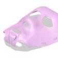 Impresiones 3D real halloween mask v01 magic ritual sport bdsm for 3d-print or cnc, Dzusto
