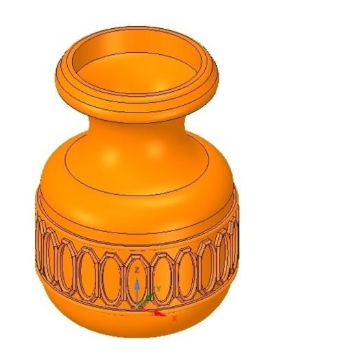 Impresiones 3D jarrón profesional jarrón jarrón jarrón jarrón jarrón jarrón jarrón para impresión 3d y cnc, Dzusto