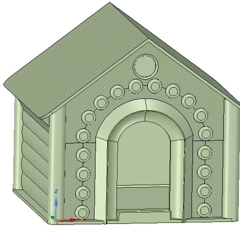 Descargar STL Doghouse Cathouse Housekeeper para una impresión real en 3D, Dzusto