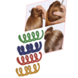 Female braid hair 02 v4-00.png Download STL file Spiral Spin Screw Hair Pins Clip Twist Barrette female WEDDING Accessory hair braid hair styling roller hair accessories for girl headdress weaving tool fbh-02 3d print cnc • Design to 3D print, Dzusto