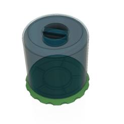 Descargar STL Cubierta antipolvo herramienta de reparación de bandejas de relojes 3d print, Dzusto