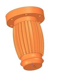 Descargar archivos 3D la pata de los muebles reales para la impresión en 3D y la producción en cnc, Dzusto