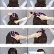 acessorio-para-fazer-tranca-facil-penteados-cabelo-festas-Female braid hair 05.jpg Download STL file Multi Style Braiding Tool hair styling roller braid accessories for girl woman headdress weaving fbh-05 3d print cnc • Object to 3D print, Dzusto