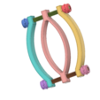 Download 3D printer designs Pussy Trap Vaginal Female Dilator Expander clitoris clamp v02 3d print cnc, Dzusto