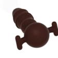 Download 3D printer files Cock Lockable Realistic Penis Mouth Gag Plug with Adjust Strap SM bondage Flex gmg14 3d print, Dzusto