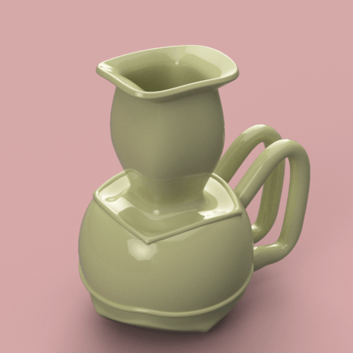 Download 3D printer files East style vase cup vessel holder v310 for 3d-print or cnc, Dzusto