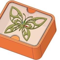 Descargar modelo 3D Caja de regalo de boda Caja de juguetes pequeña caja de juguetes Modelo de impresión en 3D, Dzusto