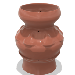 Download 3D printing files country style vase cup vessel v308 for 3d-print or cnc, Dzusto