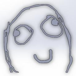 Télécharger fichier impression 3D Derp meme, todo3d