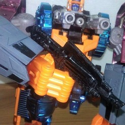 04.jpg Download STL file Transformers Optimal Optimus Vintage Arm Shields, Weapon and Poseable Hands • Design to 3D print, Sieg_kai