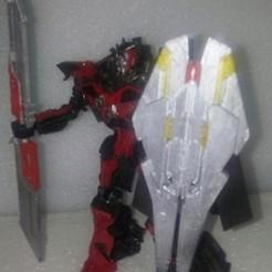 00.jpg Télécharger fichier STL Transformers Studio Series Sentinel Prime Blades Shield Blaster • Plan pour imprimante 3D, Sieg_kai