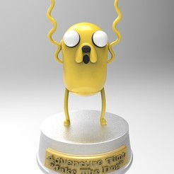 Download 3D printer designs Jake the Dog adventure time, ratuzin001