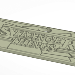 2.png Download free STL file Stranger Things Keychain • 3D print object, 6L0R14