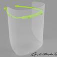 Descargar archivo 3D gratis Covid19 Face Shield_2.1, mech22ayush