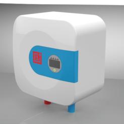 Descargar STL gratis Modelo de calentador de agua, mech22ayush