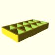 8dbfa2f906729c17b63561dab9363df9.png Télécharger fichier SCAD gratuit Plateau de palettes de peinture personnalisable v2 • Design imprimable en 3D, Andrux51