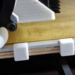 Télécharger fichier STL gratuit Anet A8 clip de lit chauffant • Plan à imprimer en 3D, Andrux51