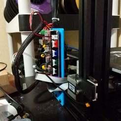 Télécharger fichier STL gratuit Ender 3 MKS Gen L / SKR v1.3 Board External Mount • Design à imprimer en 3D, Andrux51