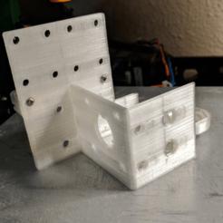 Download free 3D printer designs Anet A8 Titan Aero Mount v2 w/ inductive sensor mount, Andrux51