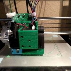 Download free 3D printing files Anet A8 E3D Titan Aero Mount & Fan Duct, Andrux51