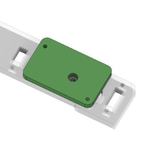 Descargar diseños 3D gratis Placa de refuerzo de la placa posterior Anet A8, Andrux51