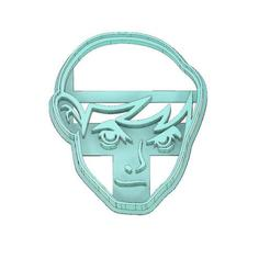 Download 3D printing files BEN 10 COOKIE CUTTER, BEN FACE COOKIE CUTTER, COOKIE CUTTER, FONDANT CUTTER, mipm