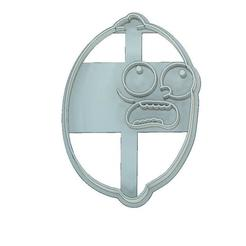 Download 3D model COOKIE CUTTER, FONDANT, RICK AND MORTY, LEMON MORTY, mipm