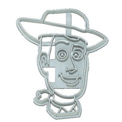 Download 3D printer model TOY STORY COOKIE CUTTER, FONDANT, WOODY COOKIE CUTTER, TOY STORY, WOODY, mipm