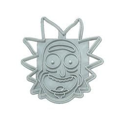 Download 3D printer designs COOKIE CUTTER, FONDANT, RICK AND MORTY, RICK, mipm