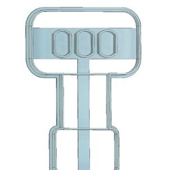 Spatula Cookie Cutter.jpg Download STL file SPATULA COOKIE CUTTER,CHEF COOKIE CUTTER, KITCHEN COOKIE CUTTER, COOKING, CHEF, KITCHEN, SPATULA • 3D print design, mipm