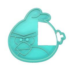Angry Birds Red Cookie Cutter.jpg Télécharger fichier STL Coupeur de biscuits pour oiseaux en colère, Coupeur de biscuits pour oiseaux rouges, Coupeur de biscuits pour oiseaux rouges, Coupeur de biscuits pour oiseaux rouges en colère, Coupeur de biscuits • Objet à imprimer en 3D, mipm