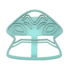 Download 3D printing models BEN 10 COOKIE CUTTER, HUMUNGOSAUR COOKIE CUTTER, COOKIE CUTTER, FONDANT CUTTER, mipm