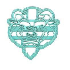 Beast Cookie Cutter .jpg Télécharger fichier STL LA BELLE ET LA BÊTE À L'EMPORTE-PIÈCE, LA BÊTE À L'EMPORTE-PIÈCE, L'EMPORTE-PIÈCE, L'EMPORTE-PIÈCE FONDANT • Plan pour impression 3D, mipm