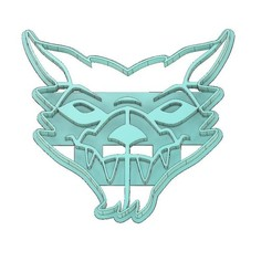 Download 3D printing files BEN 10 COOKIE CUTTER, BLITZWOLFER COOKIE CUTTER, COOKIE CUTTER, FONDANT CUTTER, mipm