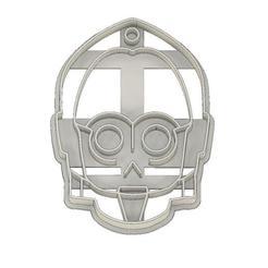 C3PO.jpg Télécharger fichier STL CORTADOR DE GALLETAS FONDANT C3PO STAR WARS • Plan imprimable en 3D, mipm
