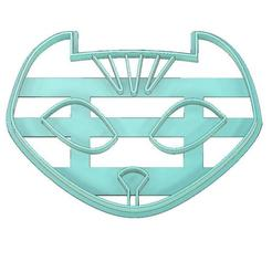 Download 3D print files PJ MASKS COOKIE CUTTER, CATBOY COOKIE CUTTER, CATBOY, PJ MASKS, mipm