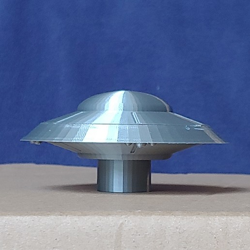 Download free STL files Earth vs the Flying Saucers spaceship, pdasher