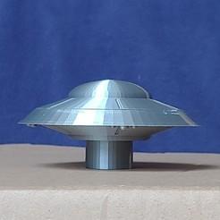 Télécharger fichier imprimante 3D gratuit La Terre contre le vaisseau spatial Flying Saucers, pdasher