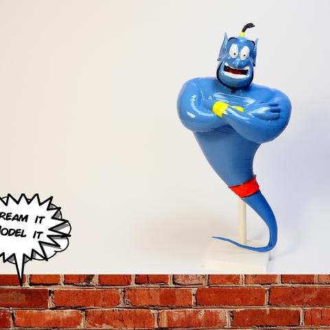 Télécharger fichier STL gratuit Génie[Aladin], Dream_it_Model_it