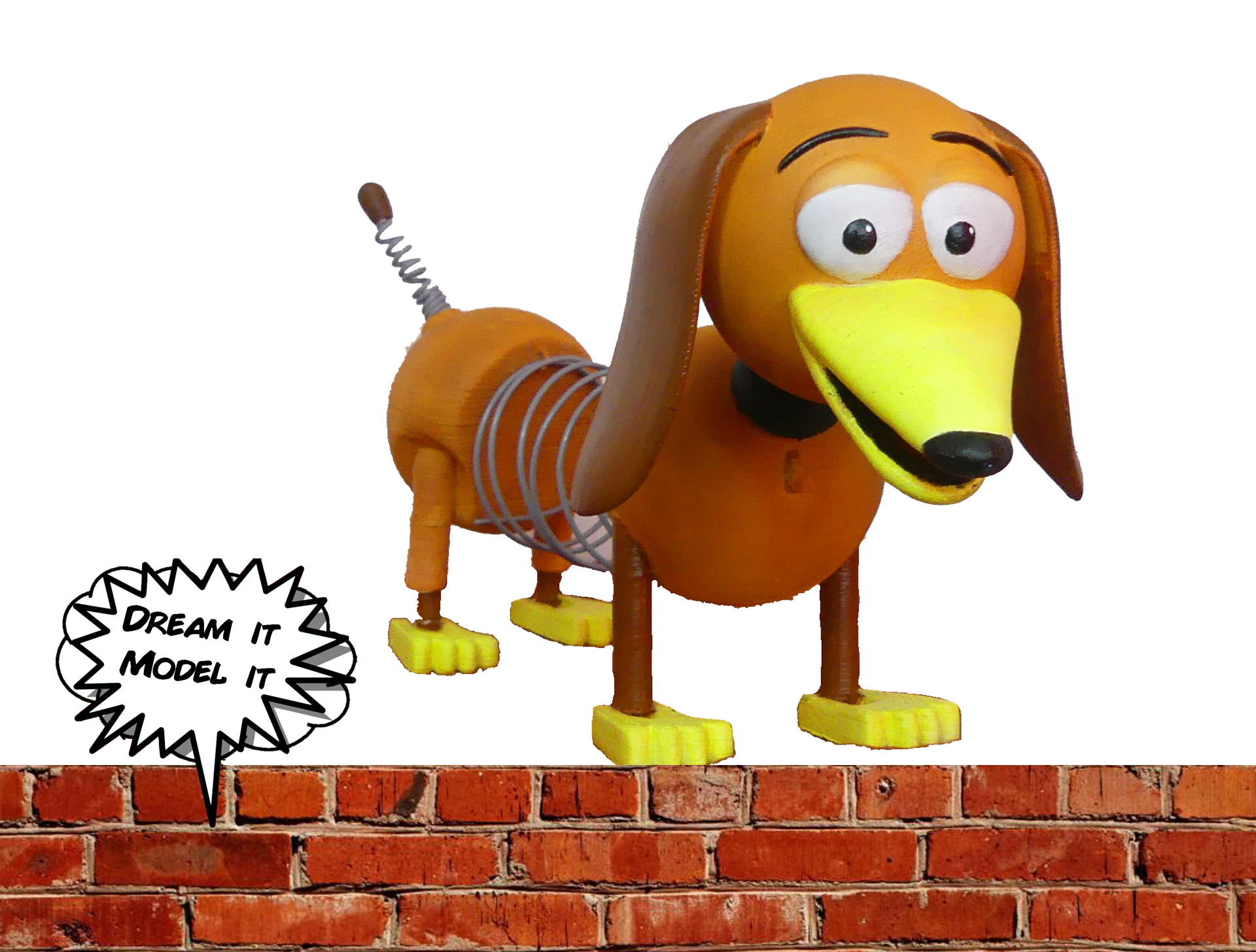 slinky.png Download free STL file Slinky [Toy Story] • 3D printable model, Dream_it_Model_it