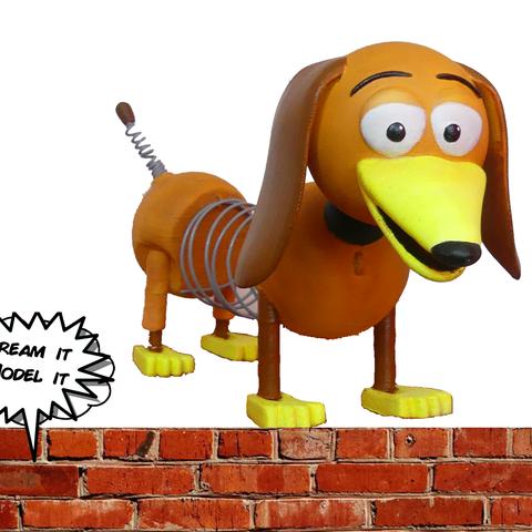 Download free 3D printer designs Slinky [Toy Story], Dream_it_Model_it