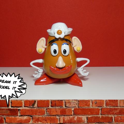 Télécharger objet 3D gratuit Mme Potato Head[Toy Story], Dream_it_Model_it