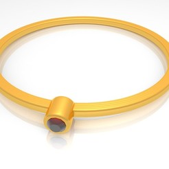 Image-Preview-01-Jewelry Cad 3d Simple Ring Model Stl - KtkarajRing02.jpg Télécharger fichier STL Bijoux Cad 3d Simple Bague Modèle Stl - KtkarajRing02 • Design pour impression 3D, KTkaRAJ
