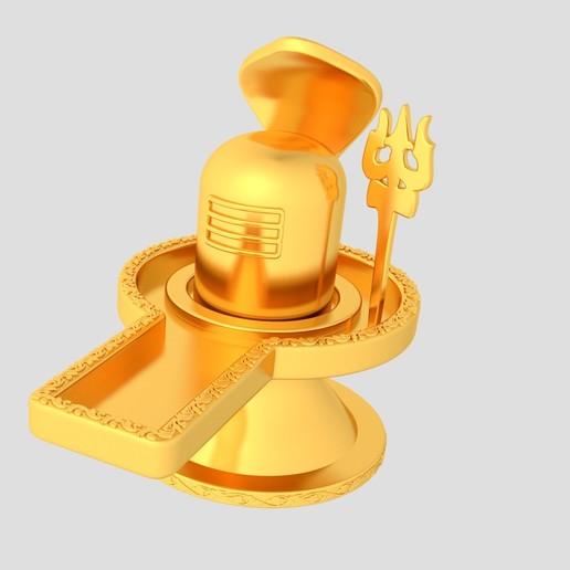 Download free STL file Lord Shiva Lingam Free 3D Model STL, KTkaRAJ