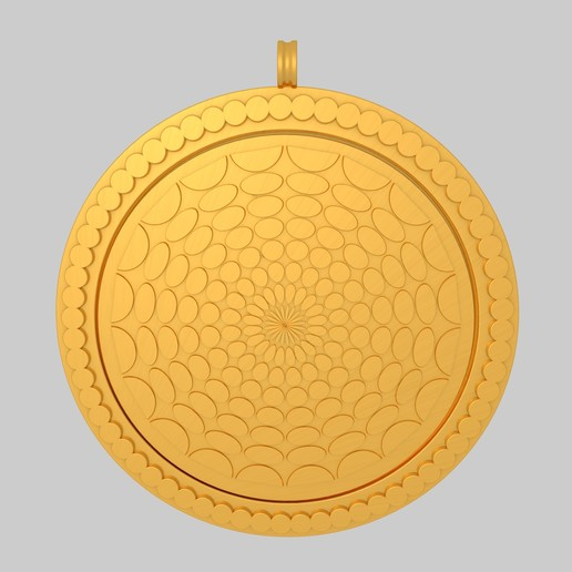 Download free 3D print files Geometric Pendant Keychain KTPF03 3D Model STL, KTkaRAJ