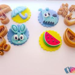 Impresiones 3D Cortador de galletas Turma da Mônica, vanessaaoberti